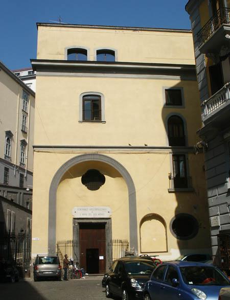 Здание богородичного братства, переданное православной общине г. Неаполя