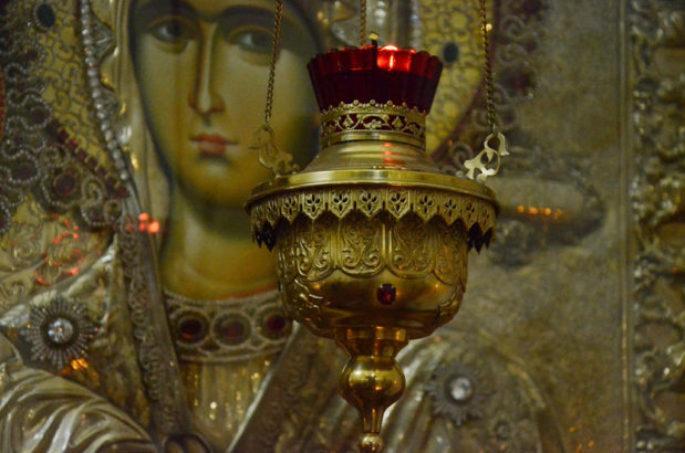 Богослужение в день памяти преподобного Феодосия Киево-Печерского